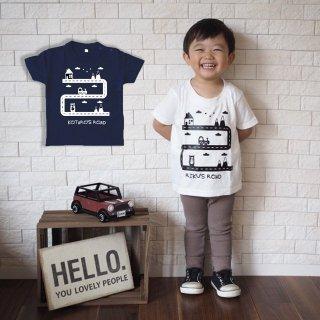 ◎(size80〜100)名前入Tシャツ【ぼくのみち】