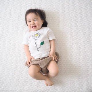 長袖あります(size80~130)名前入Tシャツ【daisy】