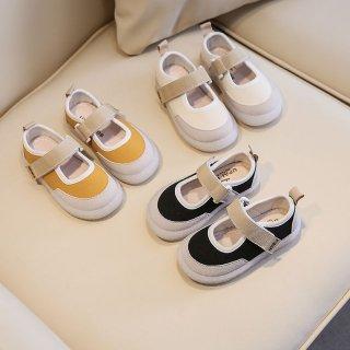 (2色)KIDS:belt sneakers