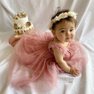(一部即納)spreads tulle dress お誕生日やイベントの記念写真に