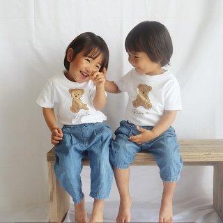 名前入りTシャツ【We Love Teddy Bear】
