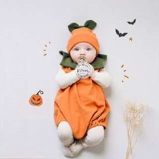 <img class='new_mark_img1' src='https://img.shop-pro.jp/img/new/icons13.gif' style='border:none;display:inline;margin:0px;padding:0px;width:auto;' />Trick or Treat パンプキンロンパースセット