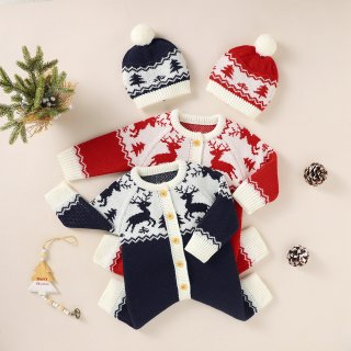 <img class='new_mark_img1' src='https://img.shop-pro.jp/img/new/icons13.gif' style='border:none;display:inline;margin:0px;padding:0px;width:auto;' />Merry X'mas:ノエルニットロンパース