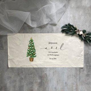 3種類のツリーが選べます:Christmasタペストリー【Noel】横向き