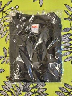 ぽてちゅうポロシャツ 黒