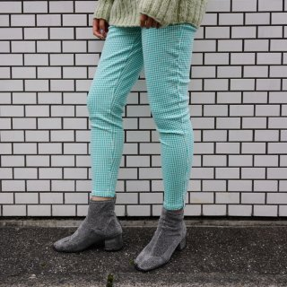 Used Stretch Gingham Check Pants