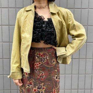 Used Python Leather Jacket