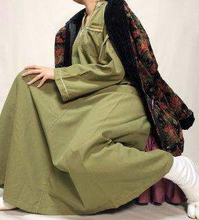 Used Ethnic Long Caftan Dress