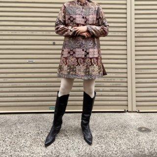Used Oriental Patch Design Jacket