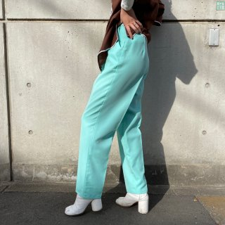 Used Mint Green Center Press Pants