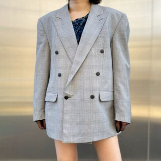 Used Check Big Tailored Jacket