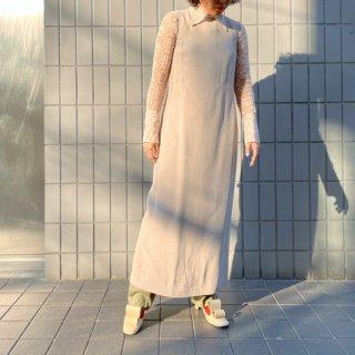 Used No-sleeve Long Dress