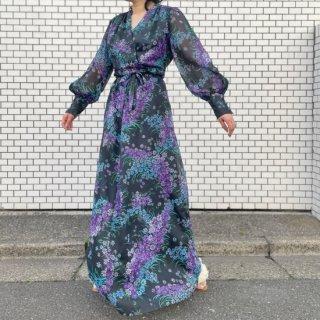 Used Flower Long Dress