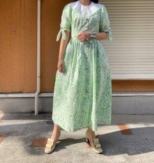 Used Botanical Flower Folklore Dress