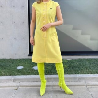 Used Yellow Polo Dress