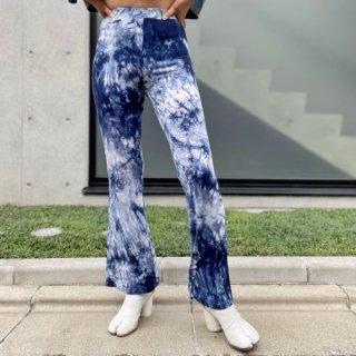 Used Tie-dye Bellbottom Pants