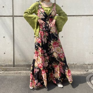 Used Flower Resort Maxi Dress