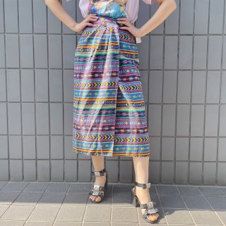 Used Mexican Wrap Skirt