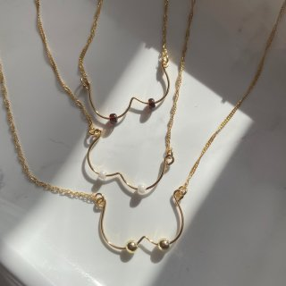 [ YEER ] OPPAI Necklace GOLD