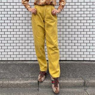 Used Yellow Corduroy Pants