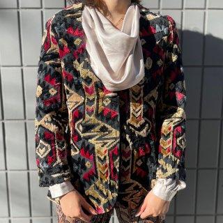 Used Flocky Jacquard Native Jacket