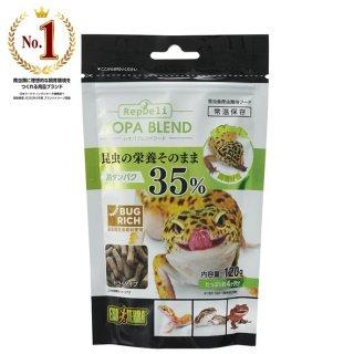 ジェックス エキゾテラ レオパブレンドフード120g 昆虫食 飼育用品
