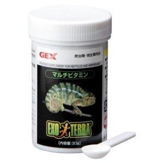 ジェックス エキゾテラ マルチビタミン 30g フード