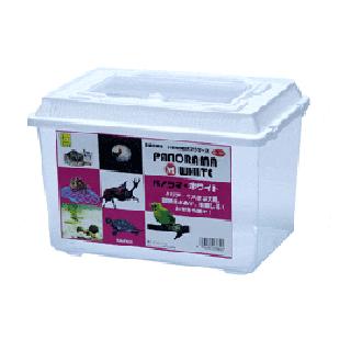 サンコー パノラマ (M) ホワイト 飼育ケース 飼育用品