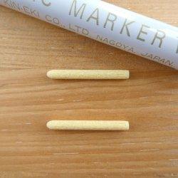 【数量限定】 日本金液 セラミックマーカー用替え芯 中字2本セット