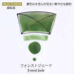 《ジュエル》フォレストジェード【陶磁器用粉末盛絵具】
