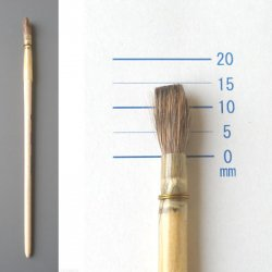 【数量限定】ドイツマイセン羽管筆1305K-6号