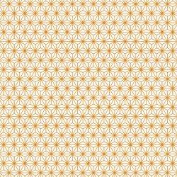 数量限定【転写紙】麻の葉 金色(陶磁器用)