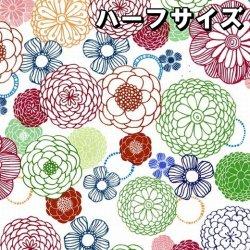 数量限定【転写紙】ダークダリアチンツ ハーフ(陶磁器用)