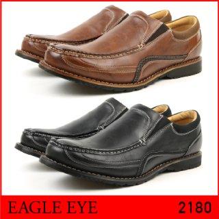 EAGLE EYE/イーグル アイ 2180 メンズ アンティーク加工カジュアルシューズ BLACK BROWN ブラック ブラウン
