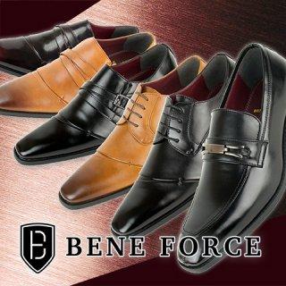 BENE FORCE/ベネフォース 6種類から選べるビジネスシューズ!28.0cm対応 BLACK BROWN WINE メンズ