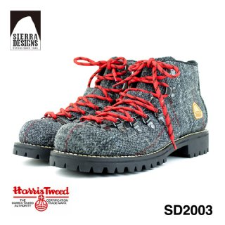 SIERRA  DESIGNS シエラデザインズ ハリスツィード マウンテンブーツ メンズ ビブラムソール Harris Tweed SD2003<br><img class='new_mark_img2' src='https://img.shop-pro.jp/img/new/icons61.gif' style='border:none;display:inline;margin:0px;padding:0px;width:auto;' />