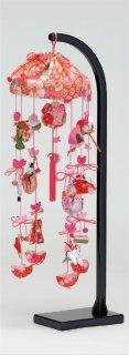 【2022】<br>桜子 つるし雛セット(飾り台付)