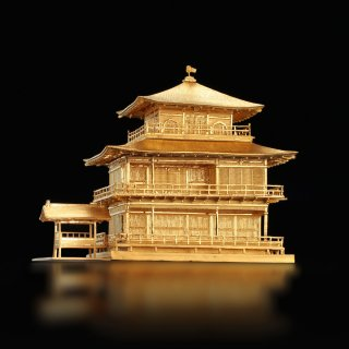 純金製 金閣寺