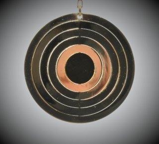 18金製 ホログラムピアス 丸型