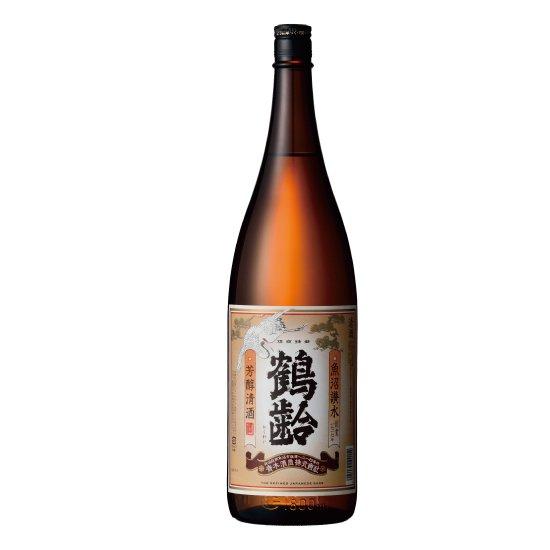 青木酒造 鶴齢 芳醇清酒 1800ml