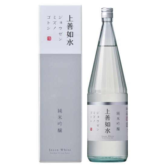 白瀧酒造 上善如水  純米吟醸 1800ml