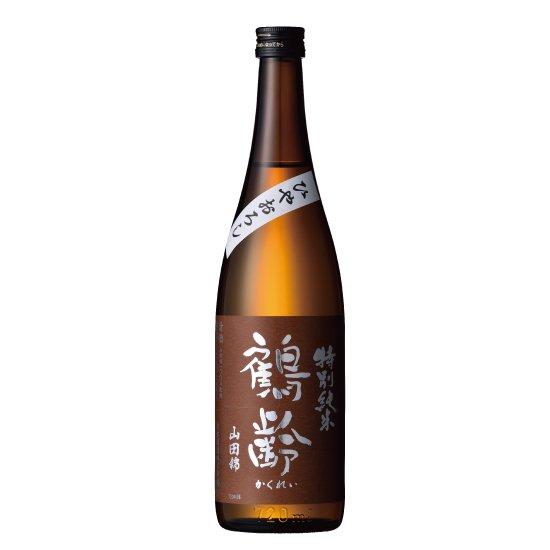 青木酒造 鶴齢 特別純米 山田錦55% ひやおろし 720ml