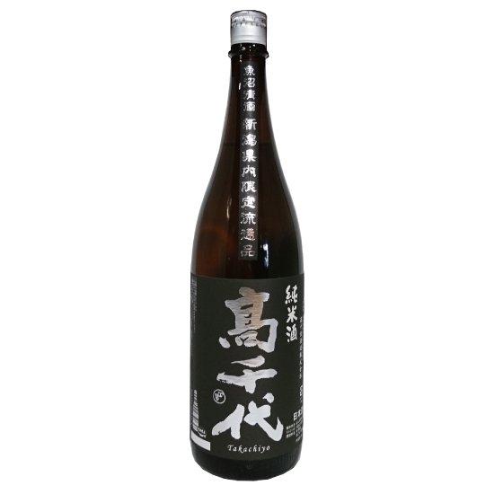 高千代酒造 高千代 純米酒 新潟県内限定 1800ml