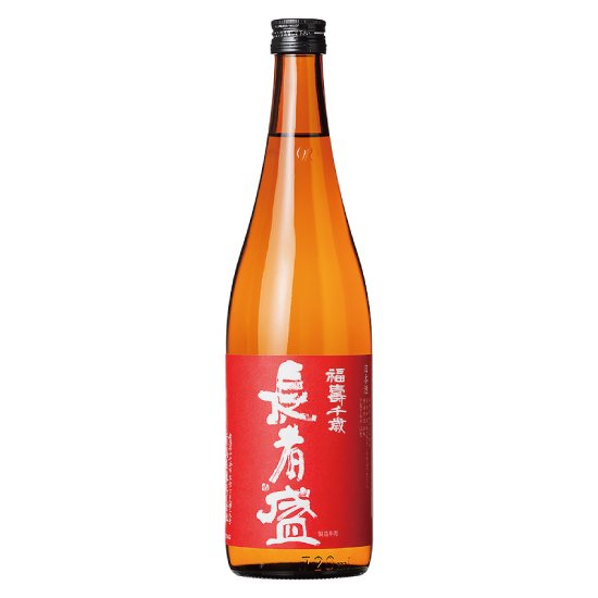 福寿千歳 長者盛 赤ラベル 本醸造 720ml