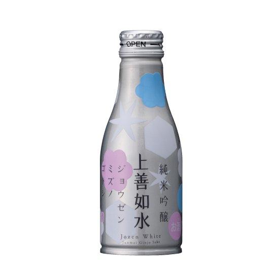白瀧酒造 上善如水  純米吟醸 アルミ缶 180ml