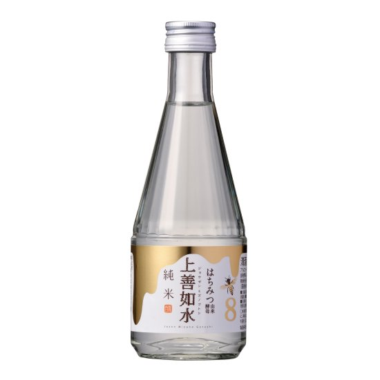 白瀧酒造 上善如水  純米 はちみつ由来酵母 300ml