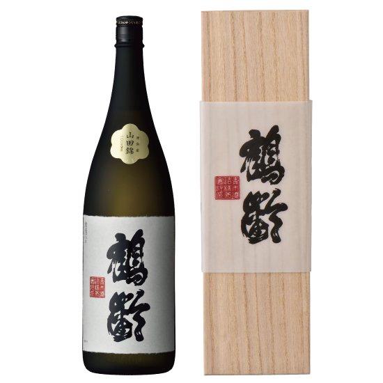 青木酒造 鶴齢 純米大吟醸 東条産山田錦37% 1800ml