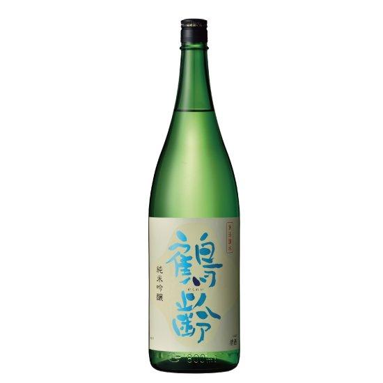 青木酒造 鶴齢 純米吟醸 1800ml