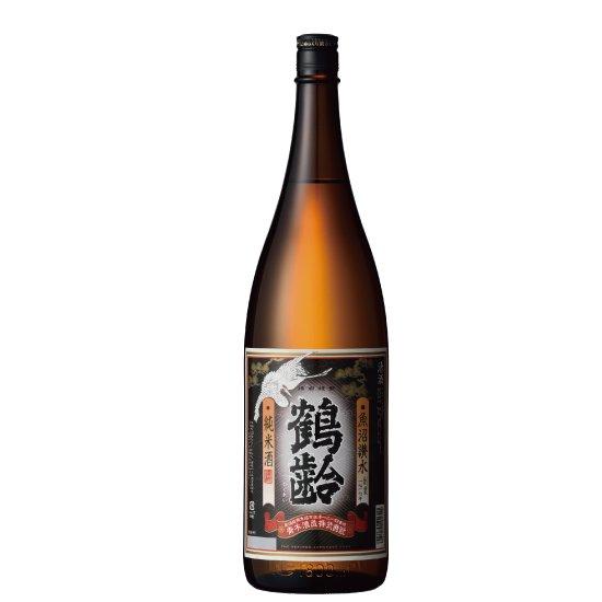青木酒造 鶴齢 純米酒 1800ml