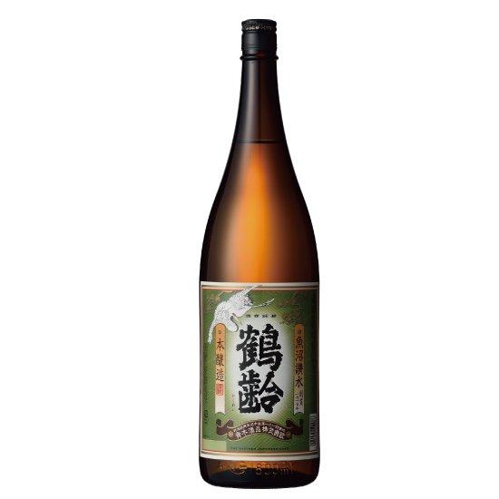 青木酒造 鶴齢 本醸造 1800ml